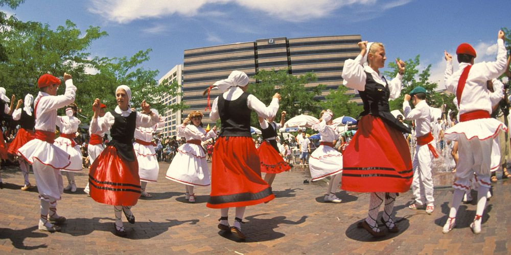 Boise's large Basque population celebrates at the annual <a style=
