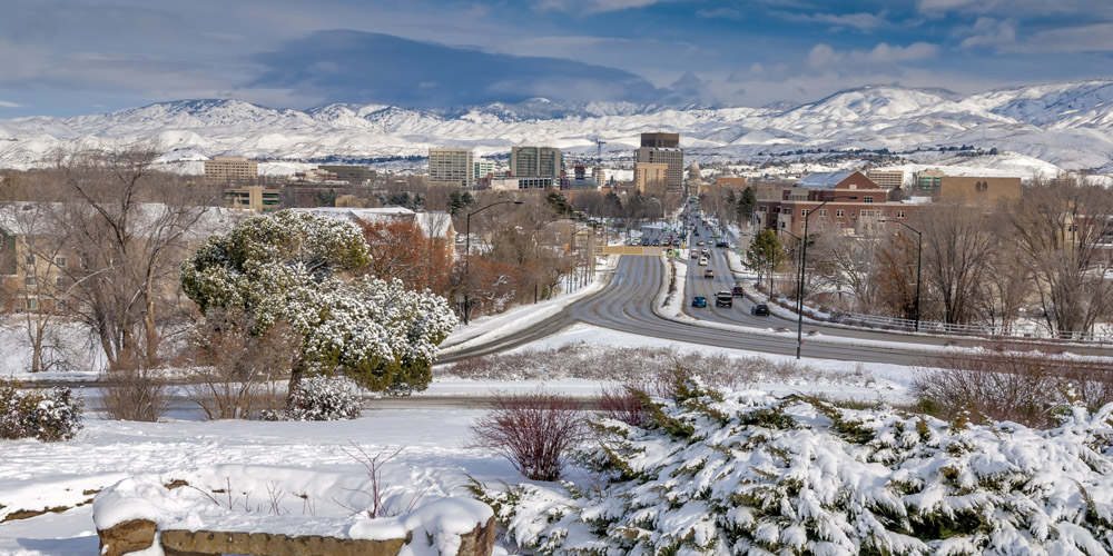 The city's iconic Capitol Boulevard runs from the Boise Depot to the Idaho Statehouse.