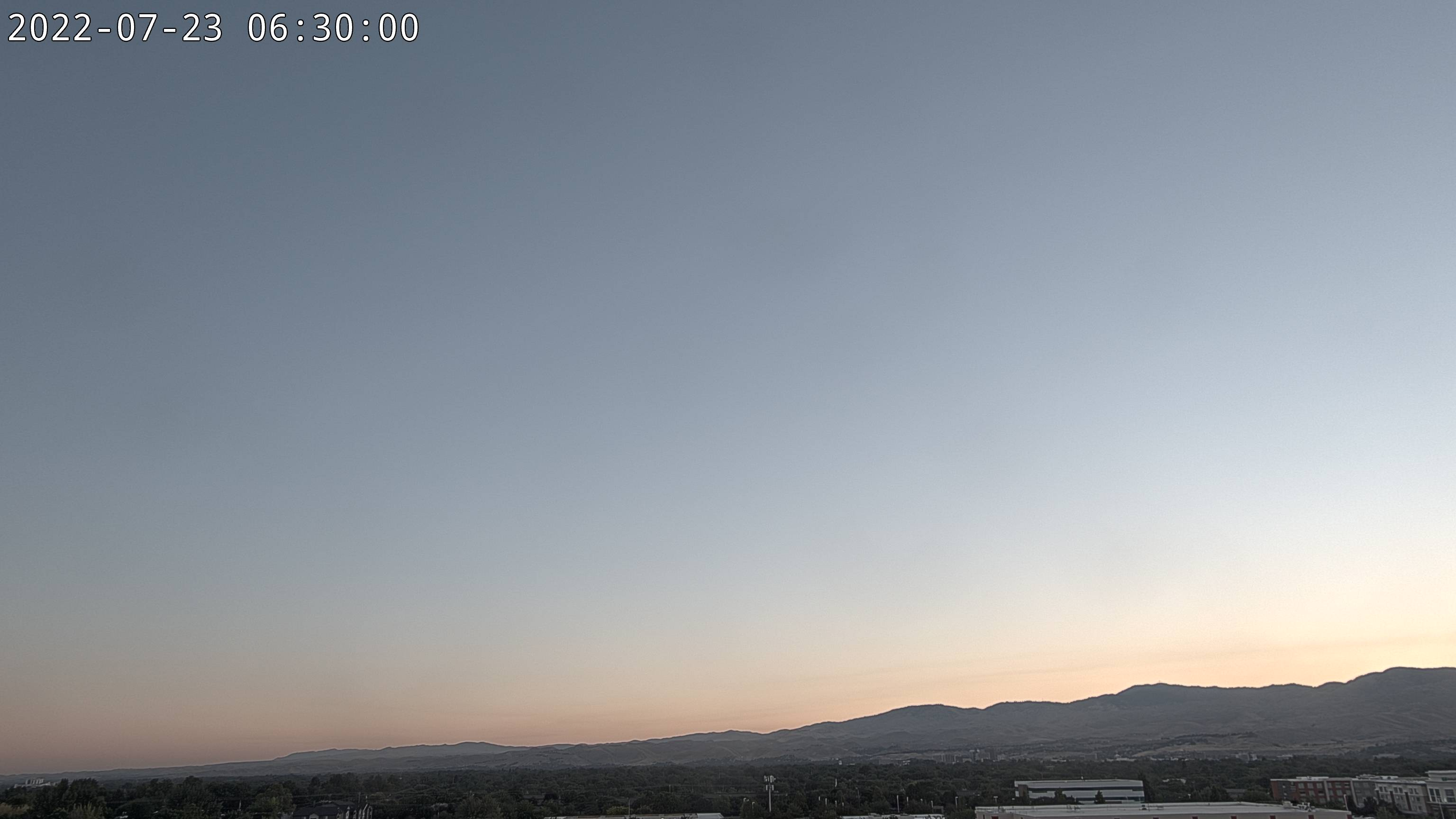 Boise Air Quality Cam - Federal Way near Gowen